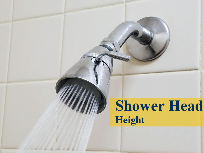 shower head height