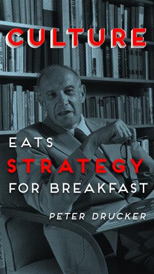 Peter Drucker on Culture