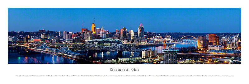Cincinnati Ohio Panoramic Picture 5