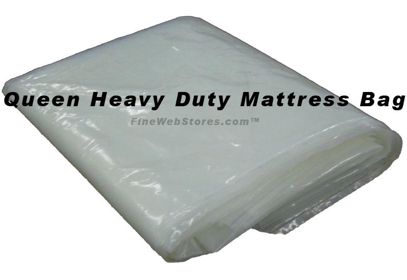 Queen Size Heavy Duty Extra Deep Plastic Mattress Bag