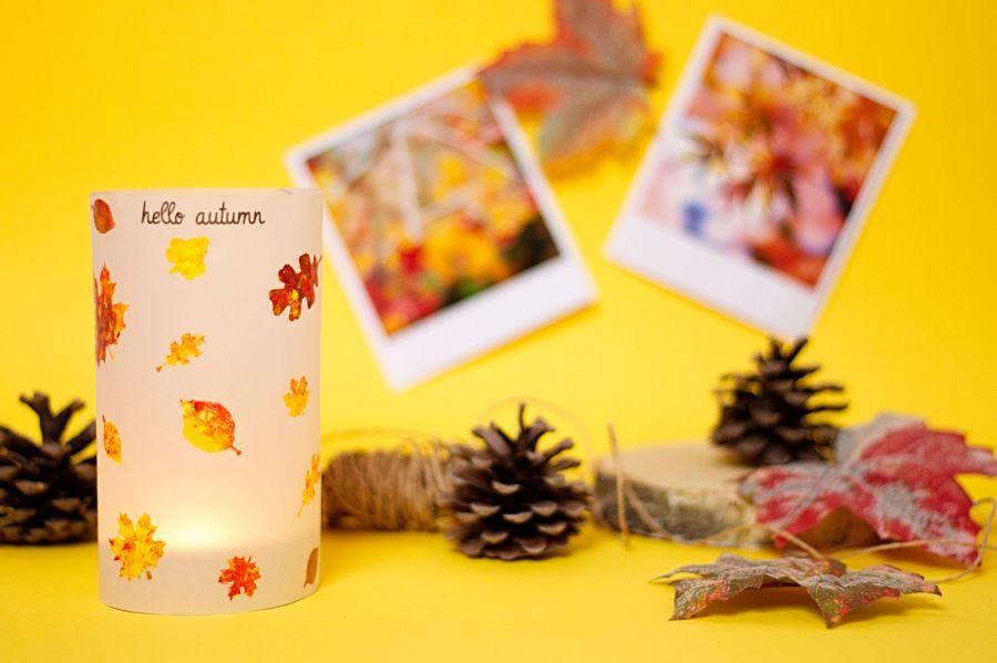 Kerze Hello Autumn