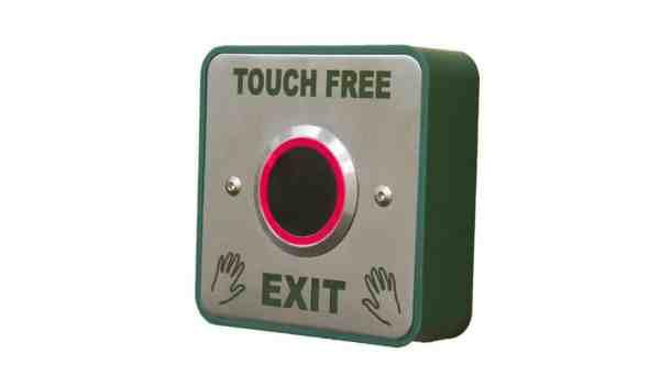 Touch Free Exit Release Borer Fingerprint Access Control