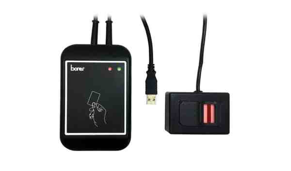 USB DESFire Biometric Fingerprint on Card Enrolment Reader Encoder Borer Fingerprint Access Control
