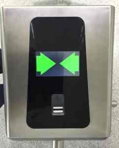 fingerprint access conrol entry turnstile