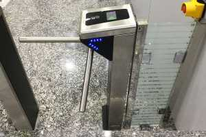 Gym Access Control System Turnstile Borer Fingerprint Access Control