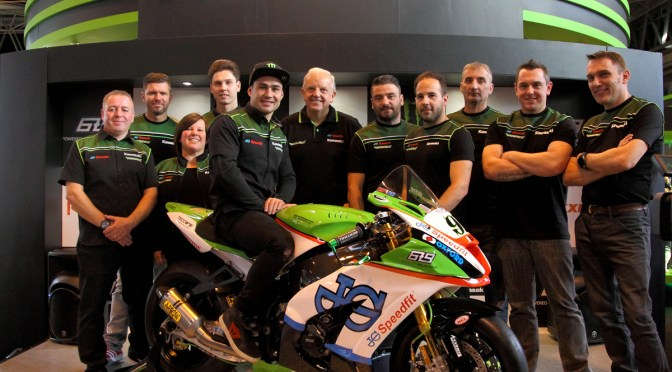 Bournemouth Kawasaki unveil new JG Speedfit livery