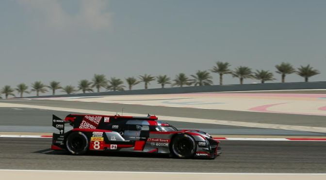 Audi bow out of WEC with victory in Bahrain