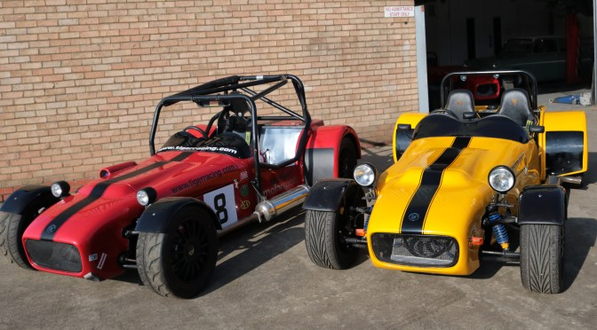 Tiger Racing, not just any kit cars…