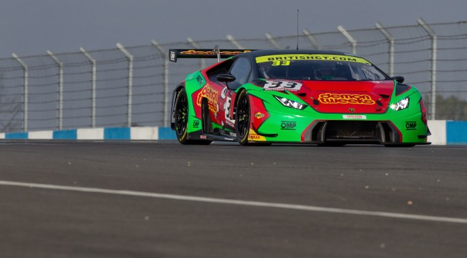 Minshaw & Keen take pole in British GT Donington Decider