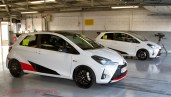 The Toyota Yaris GRMN at Silverstone