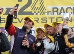 Beechdean AMR podium Silverstone