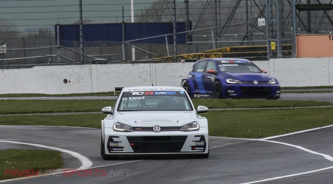 TCR UK Silverstone Qualifying Daniel Lloyd takes Pole Position