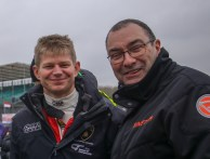 British GT's Phil Keen with Simpson Motorsports Steve Tandy