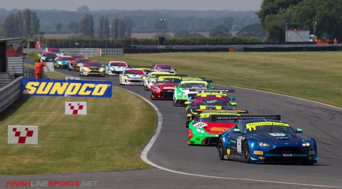 British GT Snetterton TF Sport dominate
