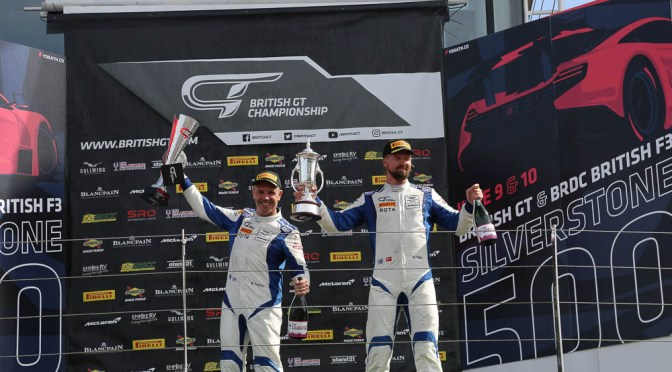British GT: Farmer and Thiim Triumph at Silverstone 500