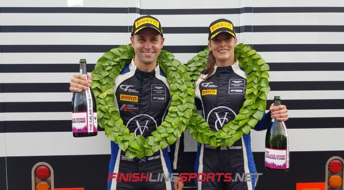 Historic Championship win for Haigh & Adam in British GT Donington Decider