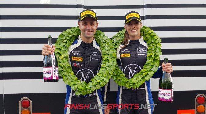 Historic Championship win for Haigh & Adam in British GT Donington Decider