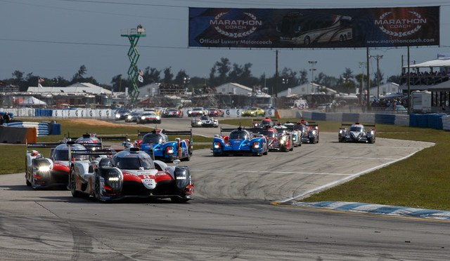 Toyota win 1000 Miles of Sebring