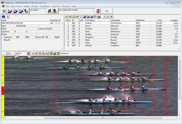 Photo-Finish Timing Systems for Rowing & Paddling | Sports ...