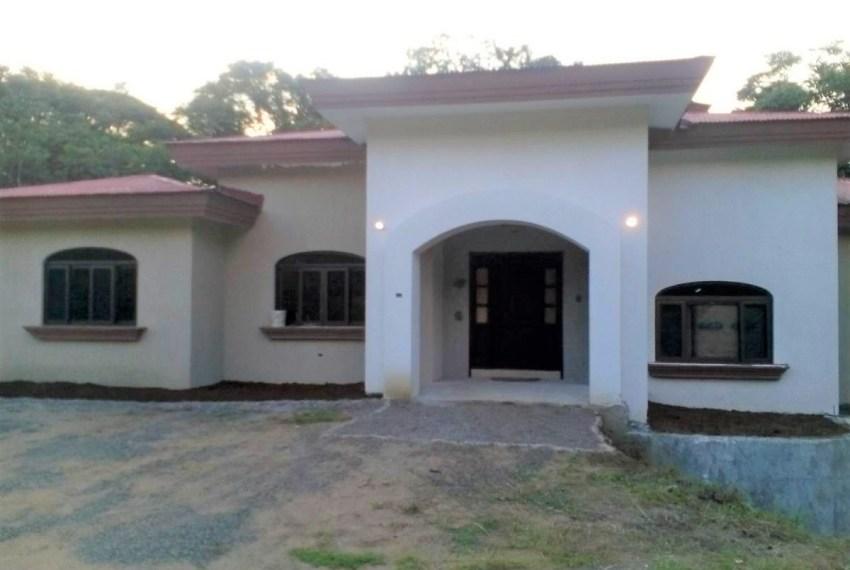 Custom home design entrance