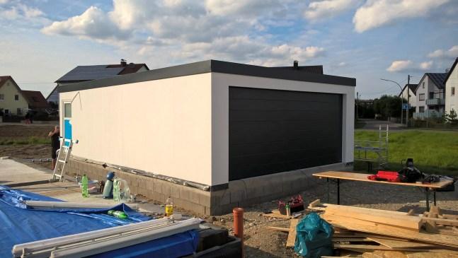 Fink Garage 6x9 Meter in Holzständerbauweise bei Dillingen