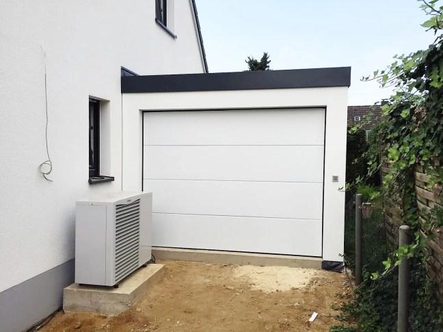 Garage 3,5mx9m in Holzständerbauweise in Düsseldorf