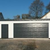 Fink Garage Dautphetal / Hessen - Sektionaltor Nebeneingangstür
