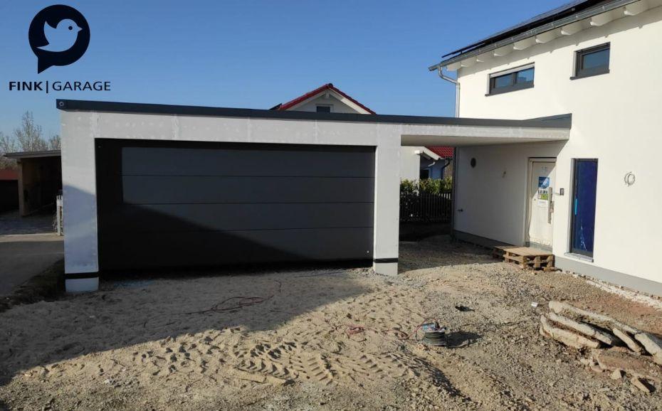 Fink-Garage-Überdachung Doppelgarage