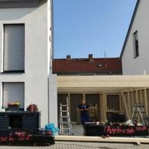 Fink-Garage Korpus erstellt - Weiterstadt