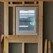 Fink Garage Wandelement mit Fenster