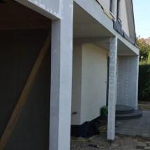 Fink Garage - Überdachung zum Haus