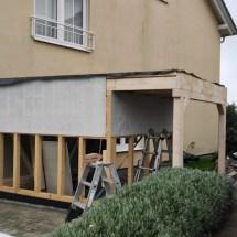 Fink Garage - Rückseitige Beplankung