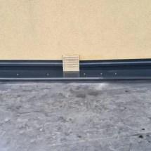 Fink Garage - Wandanschluss mit Ausschnitt