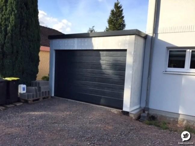 Fink Garage - Garagentor - Vorderansicht 4m Breite