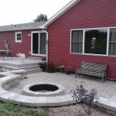 Outdoor living area in Centerburg, OH