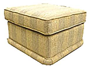 Madrid Footstool Lloyd [Silver Collection]