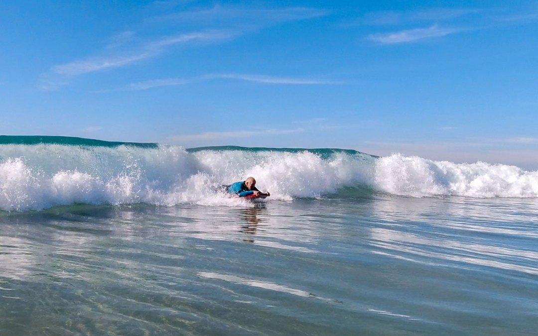 Bodysurfing i El Palmar