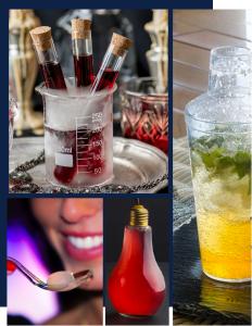 Fin Pallet bar a cocktail moléculaire lyon glace carbonique