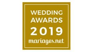 Wedding Awards Mariages.net 2019