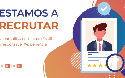 Estamos a recrutar!