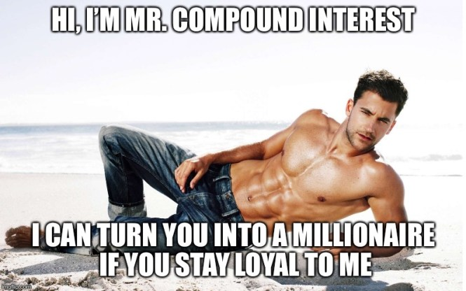 Money works for you / compound interest calculator / make money