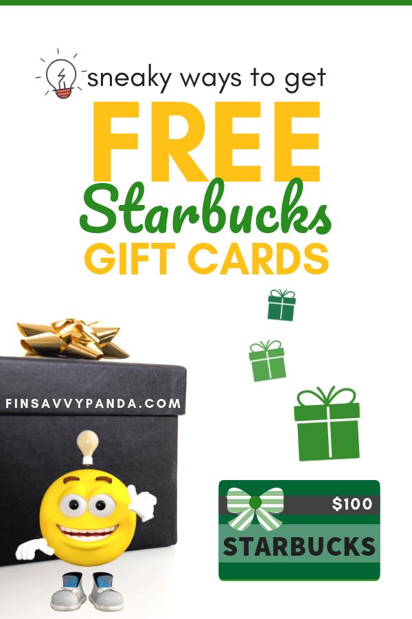 How To Get Free Starbucks (Yes, FREE Starbucks!) - Finsavvy Panda