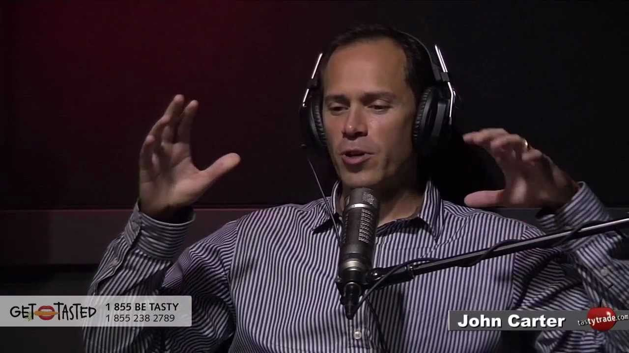 John Carter, Simpler Options, Simpler Trading, on tastytrade