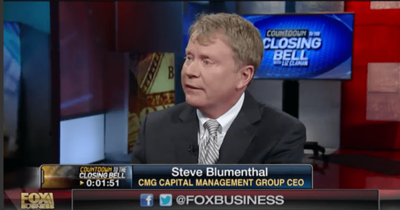"CMG Capital Management Group CEO Steve Blumenthal on ""Countdown to the Closing Bell"" with Liz Claman, FOX Business"