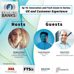 408. Innovation and Tech Zoom in Series: UX and Customer Experience