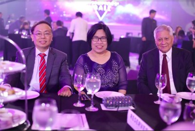 Insurance Commissioner Dennis Funa; Securities and Exchange Commission Chairperson Teresita Herbosa; Former Foreign Affairs Secretary Albert Del Rosario