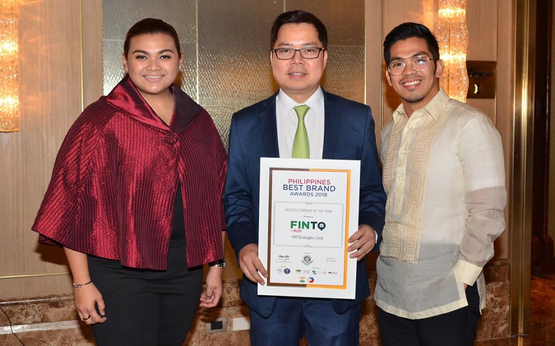 FINTQ wins Fintech Company of the Year at the Philippines Best Brand Awards 2018