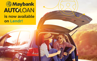Get your new wheels with  Maybank via Lendr!