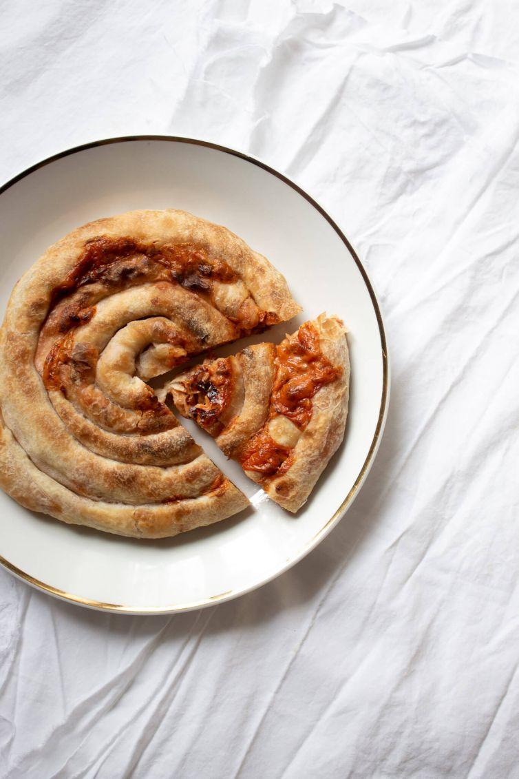 veganski pizza burek