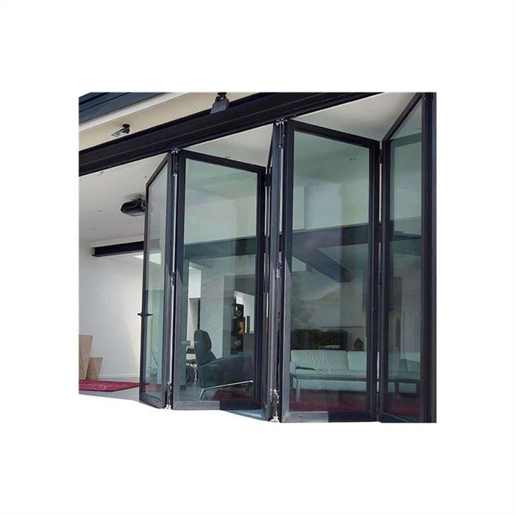 china folding glass doors patio